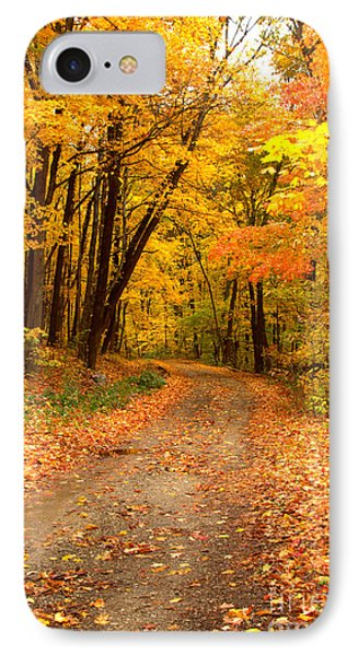 The Forest Road IPhone Case