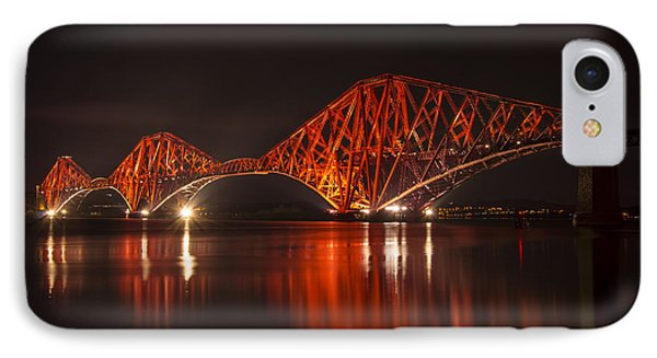 The Forth Bridge By Night IPhone Case