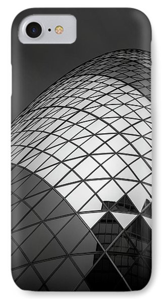 England iPhone 8 Case - The  Gherkin by Ahmed Thabet