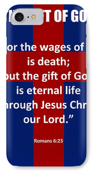 The Gift Of God Poster IPhone Case