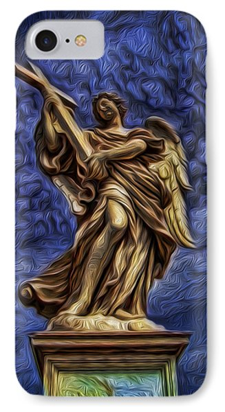 The Golden Angel IPhone Case
