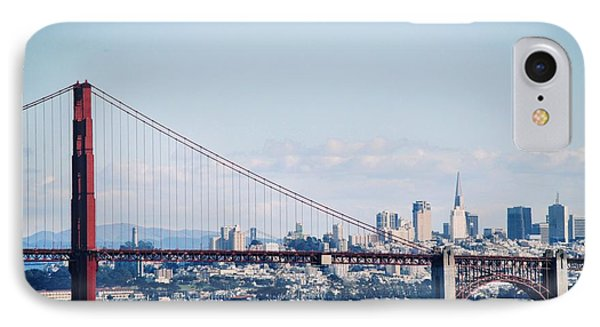 The Golden Gate To The City IPhone Case