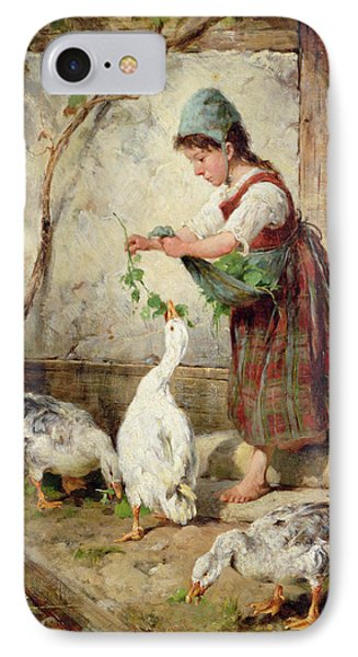 The Goose Girl IPhone Case