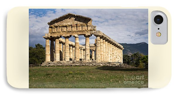 The Greek Temple Of Athena IPhone Case
