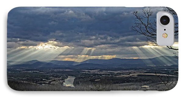 The Heavenly Valley IPhone Case