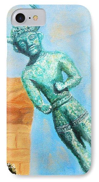The Horned God From Egkomi .  IPhone Case