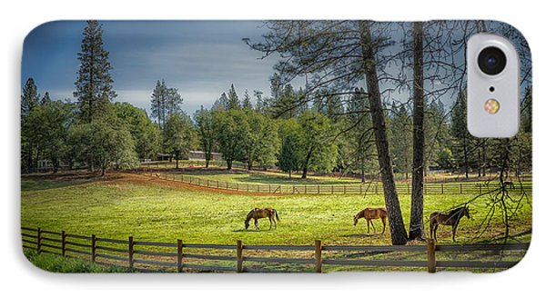 The Horses Of Placerville IPhone Case
