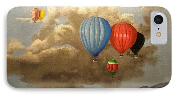 The Hot Air Balloon IPhone Case