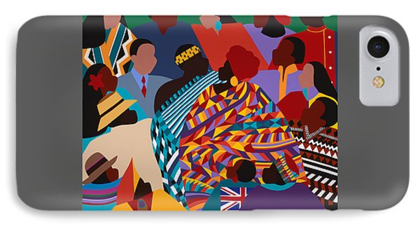 iPhone 8 Case - The International Decade by Synthia SAINT JAMES