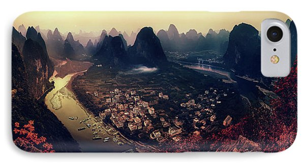 The Karst Mountains Of Guangxi IPhone Case