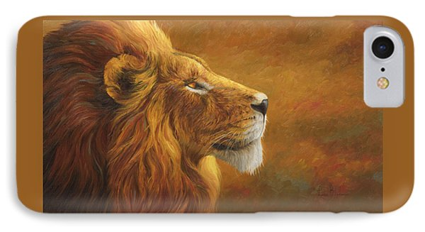 Africa iPhone 8 Case - The King by Lucie Bilodeau