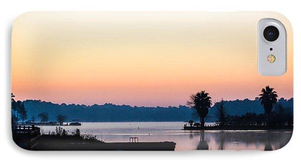 The Lake Before Sunrise IPhone Case