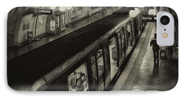 French iPhone 8 Case - The Last Metro by Thomas Siegel