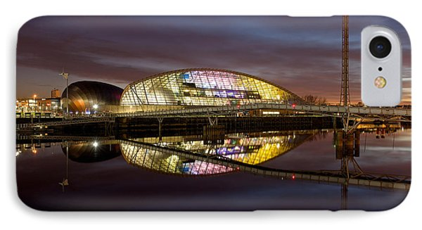 The Last Of The Light At The Glasgow Science Centre IPhone Case