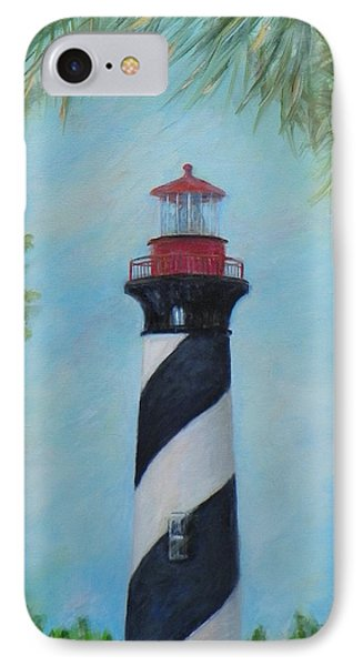 The Lighthouse In St. Augustine Florida IPhone Case