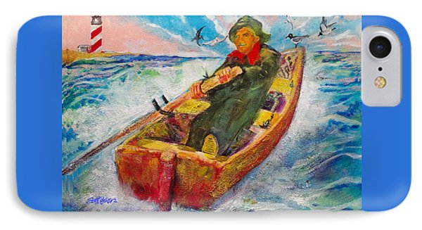 The Lone Boatman IPhone Case