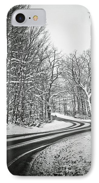 The Long Road Of Winter IPhone Case