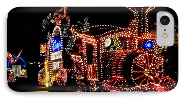 The Main Street Electrical Parade IPhone Case