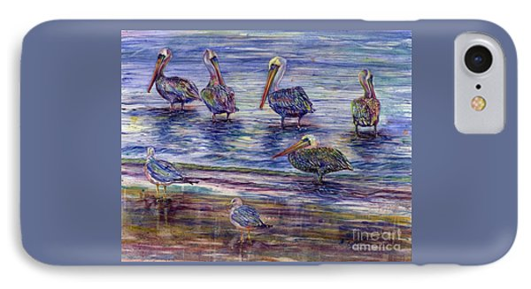 The Majestic Pelican Visit IPhone Case