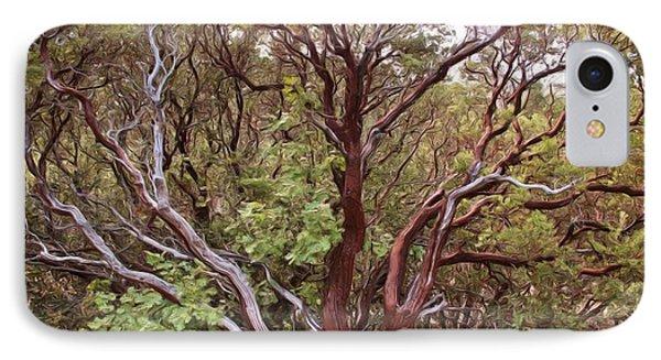 The Manzanita Tree IPhone Case