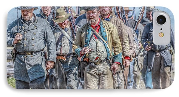 The March From Cashtown IPhone Case