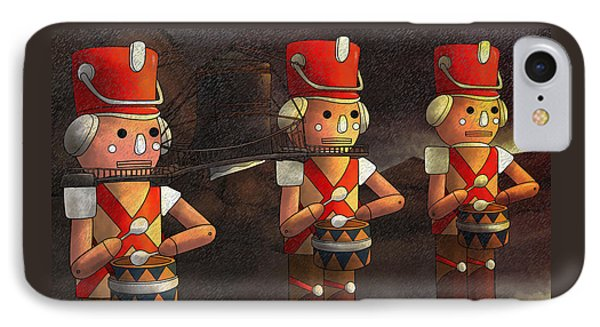 The March Of The Wooden Soldiers IPhone Case