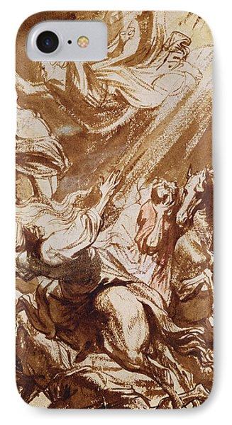 The Martyrdom Of Saint Catherine IPhone Case