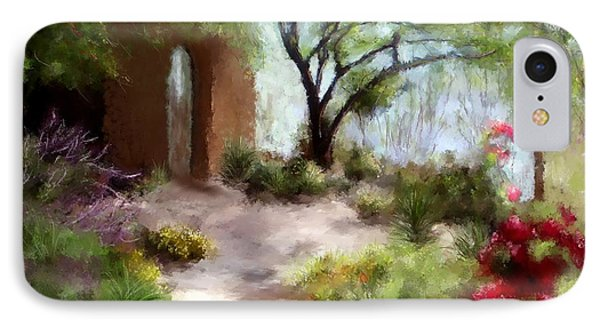 The Meditative Garden  IPhone Case