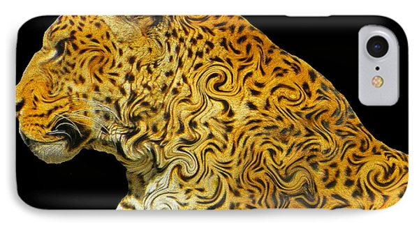 The Mighty Panthera Pardus IPhone Case