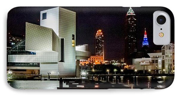 The Night Rocks In Cleveland IPhone Case