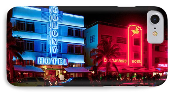 The Ocean Drive IPhone Case