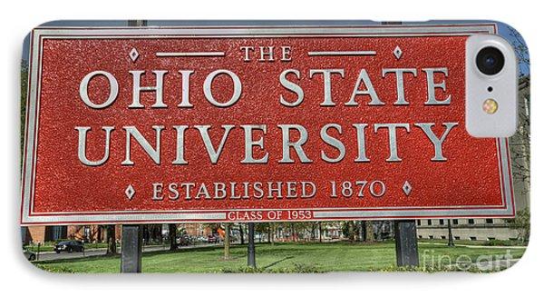The Ohio State University IPhone Case