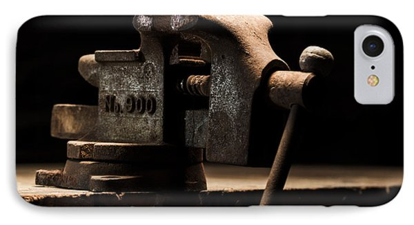 The Old Bench Vise IPhone Case