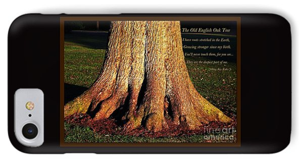 The Old English Oak Tree IPhone Case