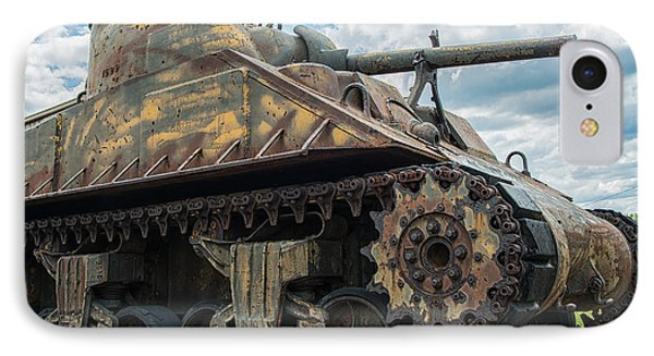 The Old Guardian-sherman Tank IPhone Case