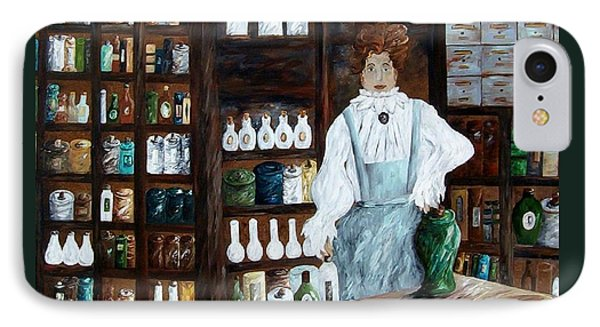 The Old Pharmacy ... Medicine In The Making IPhone Case