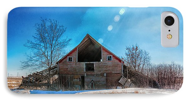 The Old Red Barn IPhone Case