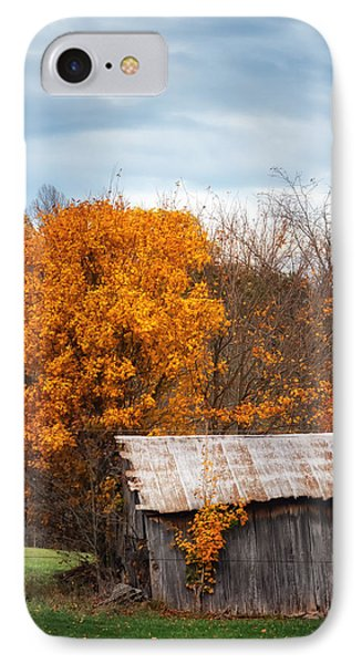 The Old Shed In Fall IPhone Case