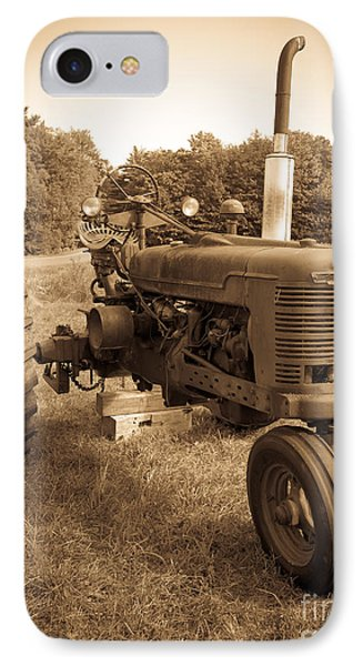 The Old Tractor IPhone Case