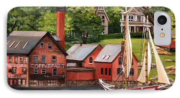 The Paint Factory And The Ardelle IPhone Case