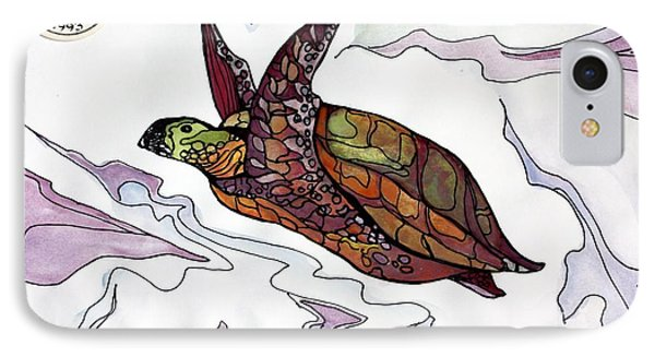 The Painted Turtle IPhone Case