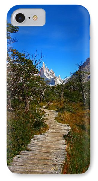 The Path To Mountains IPhone Case