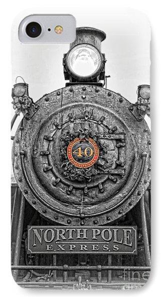 The Polar Express - Steam Locomotive Iv IPhone Case