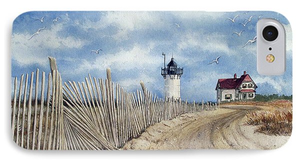 The Pole Line To Race Point Light IPhone Case
