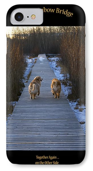 The Rainbow Bridge IPhone Case