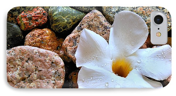 The Rock Flower IPhone Case