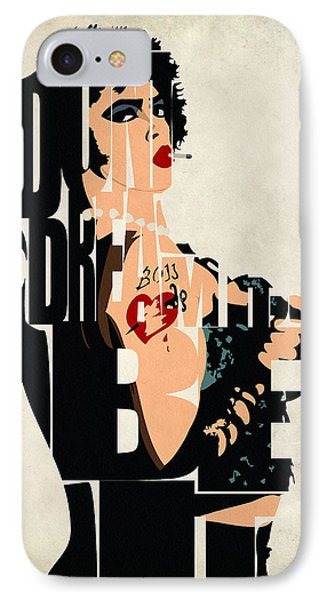 The Rocky Horror Picture Show - Dr. Frank-n-furter IPhone Case
