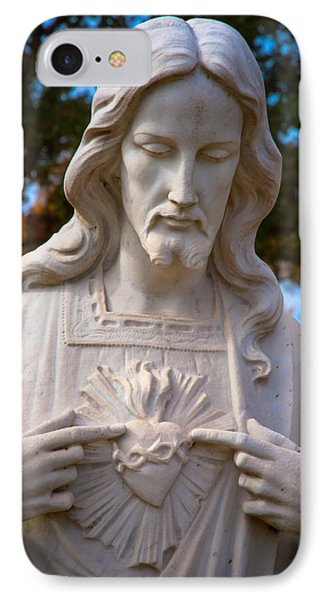 The Sacred Heart IPhone Case