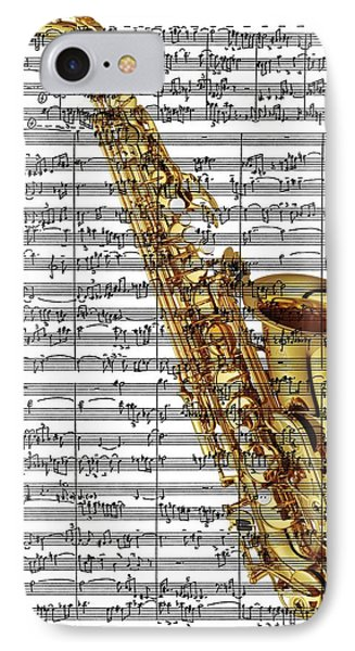 The Saxophone IPhone Case