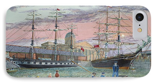 The Scamps Of Canning Dock IPhone Case
